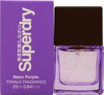 Superdry Neon Purple Eau de Cologne 25ml Spray Eau de Cologne Superdry