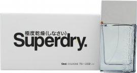 Superdry Steel Eau de Cologne 75ml Spray Eau de Cologne Superdry