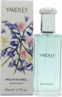 Yardley English Bluebell Eau de Toilette 50ml Spray Eau de Toilette Yardley