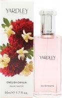 Yardley English Dahlia Eau de Toilette 50ml Spray Eau de Toilette Yardley