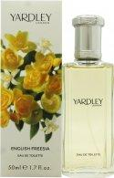 Yardley English Freesia Eau de Toilette 50ml Spray Eau de Toilette Yardley