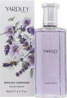 Yardley English Lavender Eau de Toilette 125ml Spray Eau de Toilette Yardley