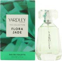 Yardley Flora Jade Eau de Toilette 50ml Spray Eau de Toilette Yardley