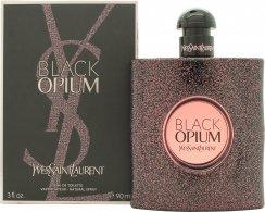 Yves Saint Laurent Black Opium Eau de Toilette 90ml Spray Eau de Toilette Yves Saint Laurent