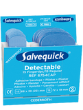 Salvequick blue detectable plåster mix 6754CAP
