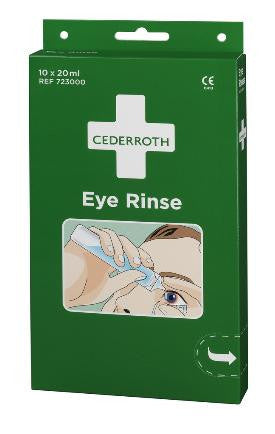 Cederroth eye rinse dispenser