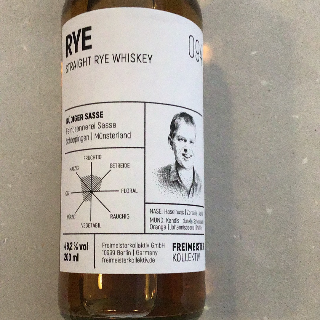 RYE Straight Whiskey. #12