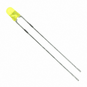 Paquete 10 LEDs Amarillo 3mm