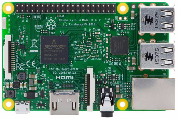 Raspberry Pi 3 con WiFi y Bluetooth