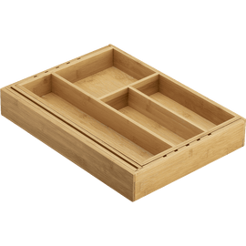 Expandable Bamboo Gadget Tray