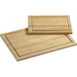 FSC Teak Rectangular Cutting Boards with Well