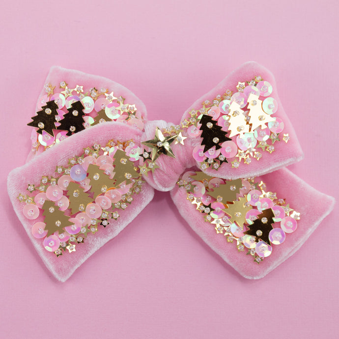 Oh So Festive!  Confetti Bow