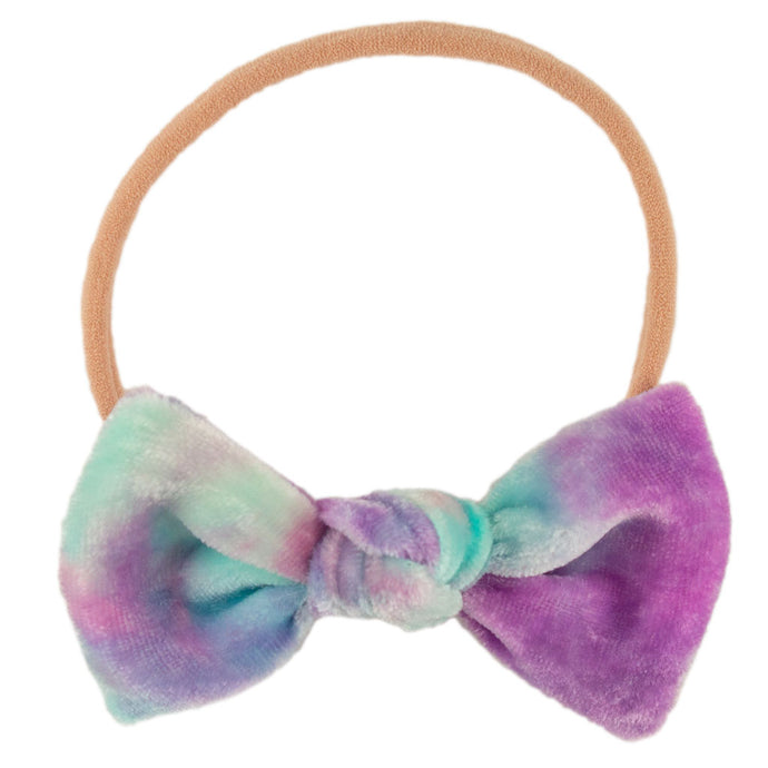 Darling Velvet Hair Bow // Unicorn Galaxy