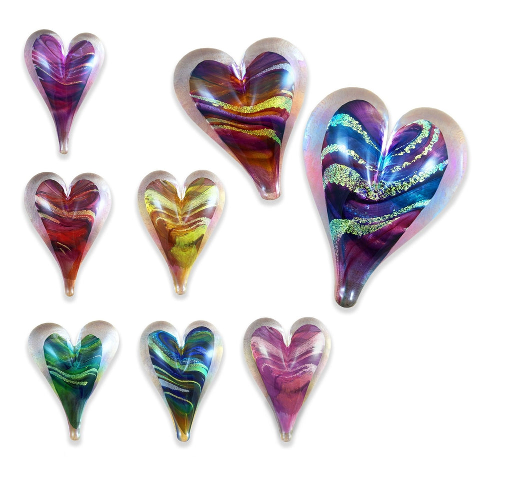 Small Heart Paperweight Show Special