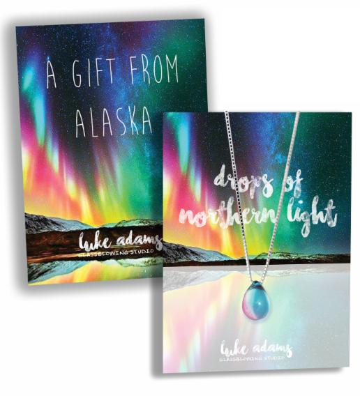 Drops of Northern Light Necklaces