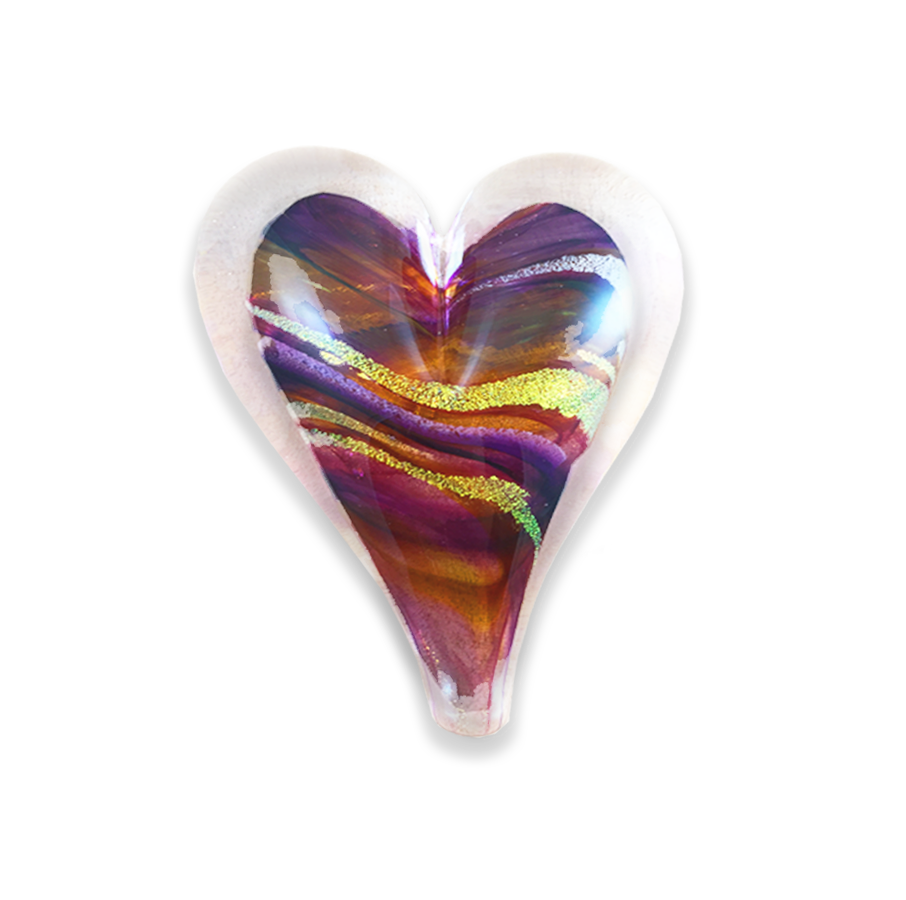 "Small Heart 3.5"" Paperweight"