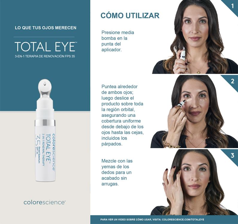 Conoce Total Eye SPF 35 de Colorescience