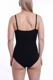 Seamed, Soft-Cups, Wire-Free Bodysuit Mica