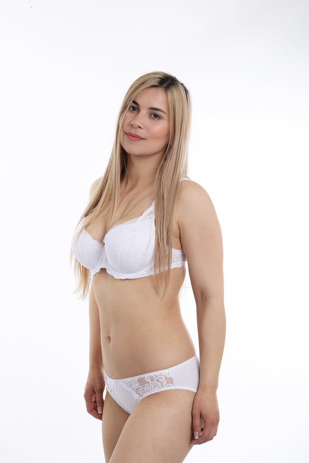 Cotton panties Tjusa with lace