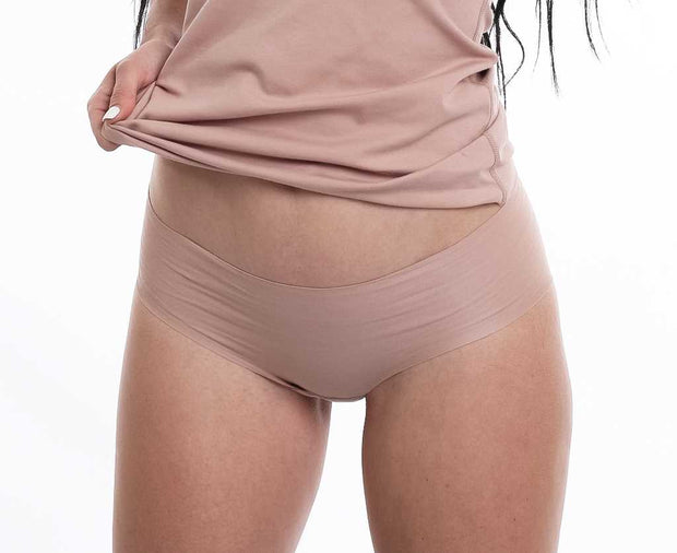 Cotton seamless hipster panties Bian