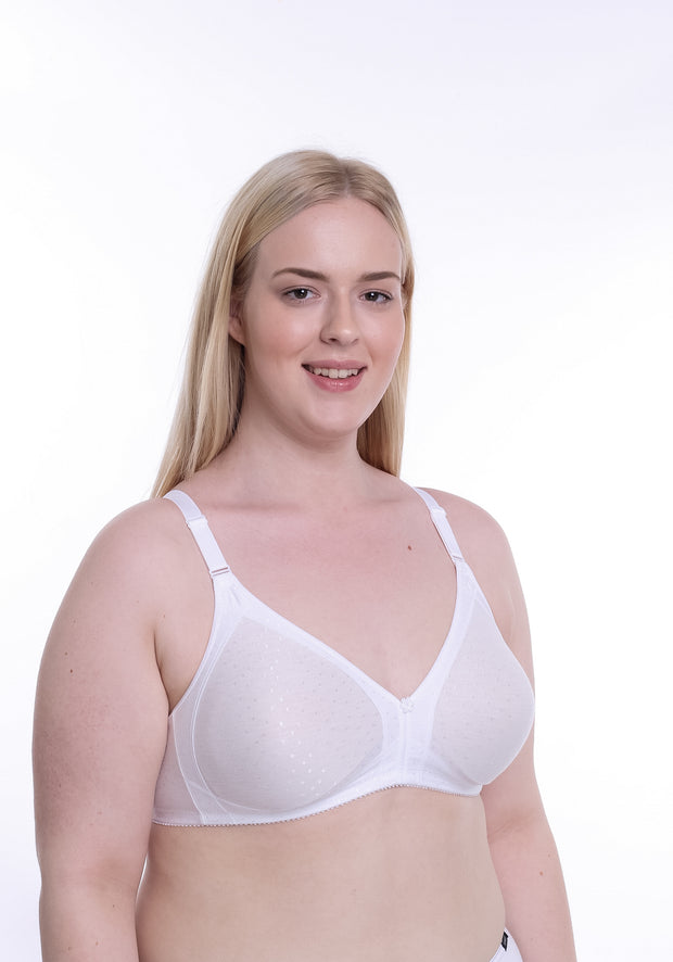 Soft-Cup, Wire-Free Bra Linda