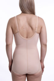Slimming Seamed, Soft-Cup, Wire-Free Bodysuit Herma