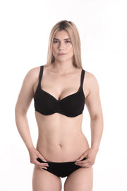 Underwire Padded Bra with Seamless, Contour Cups Dita