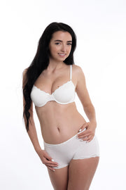 Luxury Padded, Soft-Cup, Wired Lace Bra Ursula