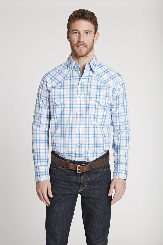 Black Label Premium Plaid Shirt