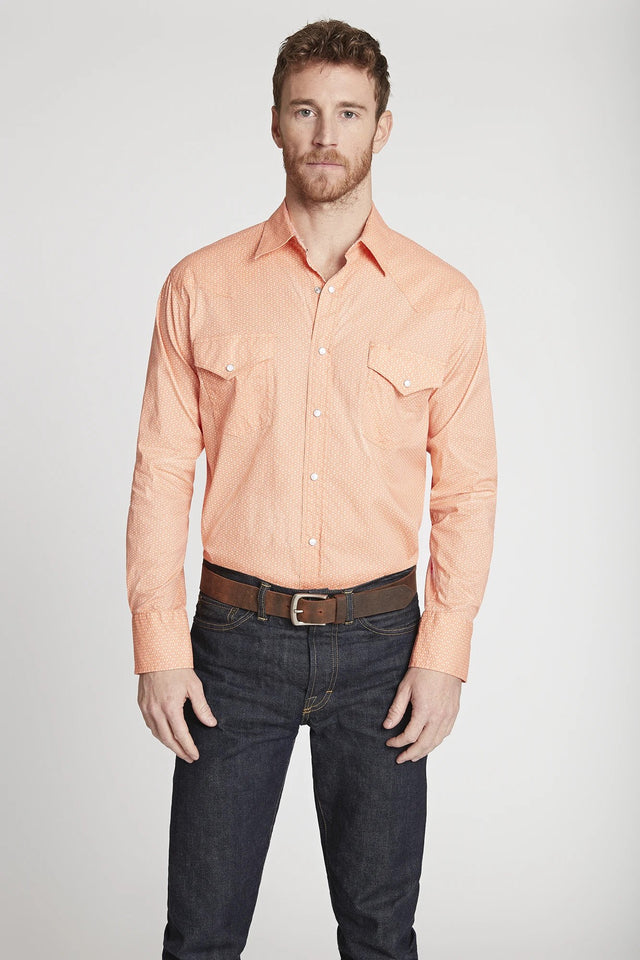 Black Label Premium Cotton Poplin Western Shirt