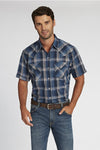 Short Sleeve Plaid Shirt in Mallard Plaid | Ely Cattleman
