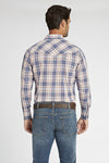 Long Sleeve Plaid Shirt in Grey Plaid | Ely Cattleman