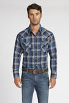 Long Sleeve Plaid Shirt in Mallard Plaid | Ely Cattleman