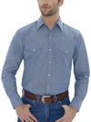 Men's Long Sleeve Chambray Workshirt | Ely Cattleman