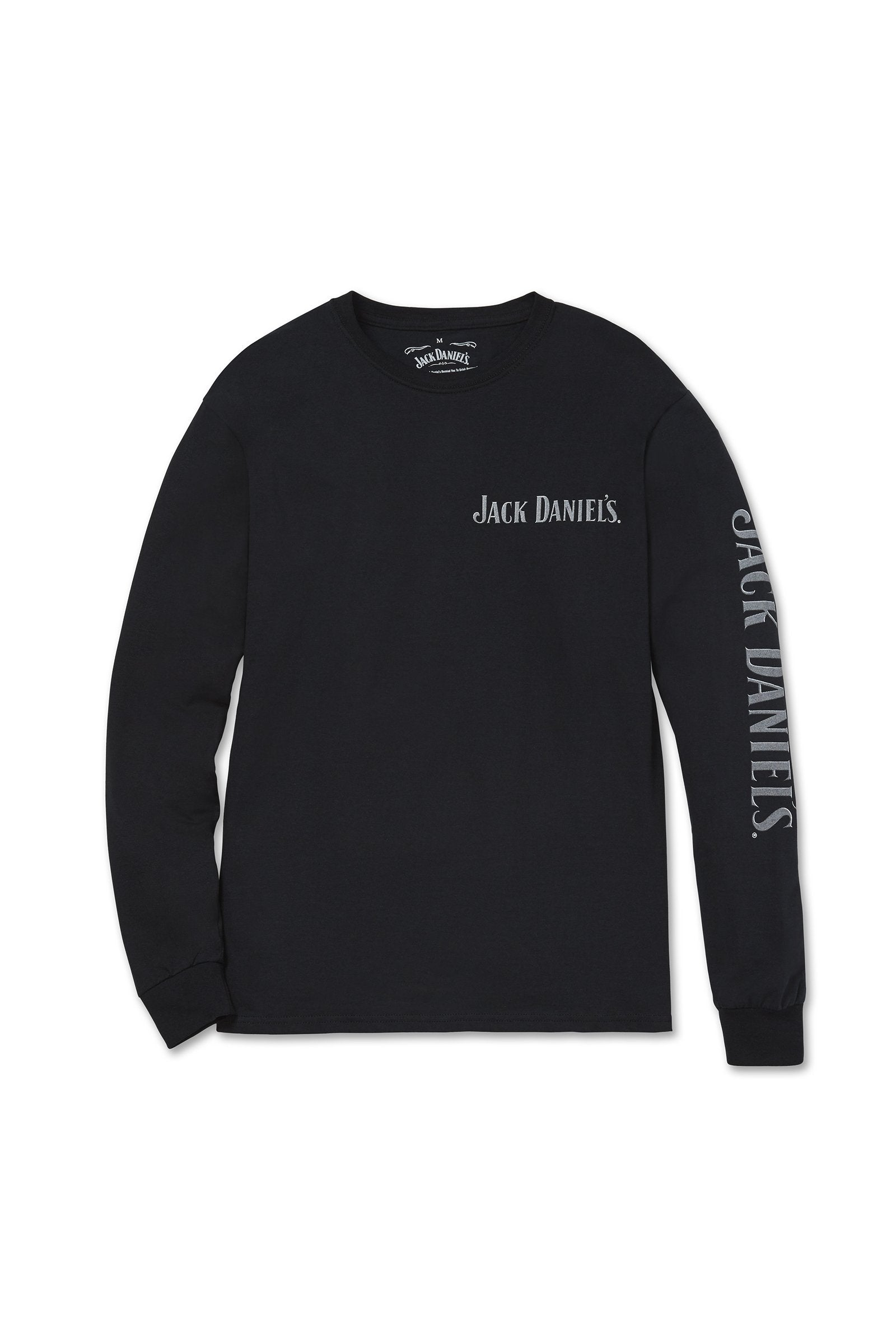 Men's Long Sleeve Jack Daniel's Bottle T-Shirt | Ely Cattleman