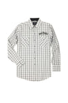 Men's Long Sleeve Jack Daniel's Classic Plaid Shirt | Ely Cattleman
