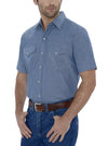 Men's Short Sleeve Chambray Workshirt | Ely Cattleman