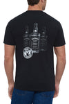 Men's Short Sleeve Jack Daniel's 3 Bottles T-Shirt | Ely Cattleman