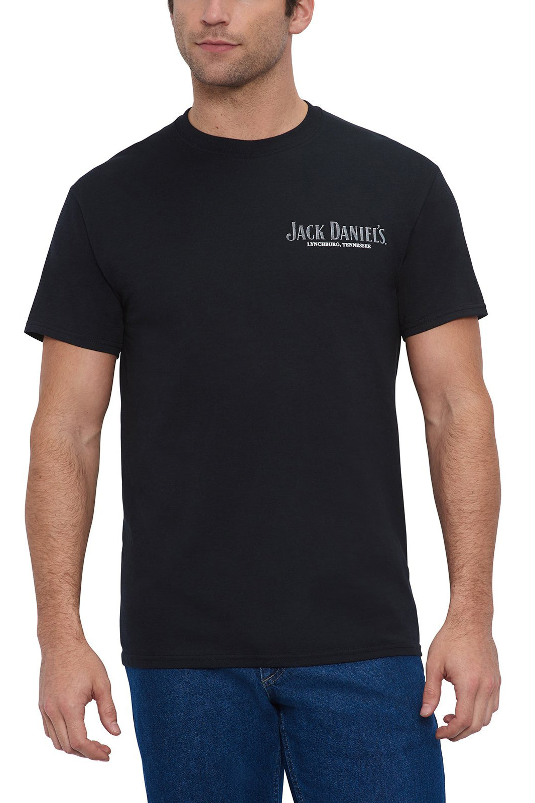 "Men's Short Sleeve Jack Daniel's ""Bottle"" T-Shirt 