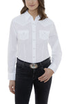 Women's Long Sleeve Solid Western Shirt | Ely Cattleman