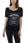 Women's Short Sleeve Jack Daniel's Label T-Shirt | Ely Cattleman