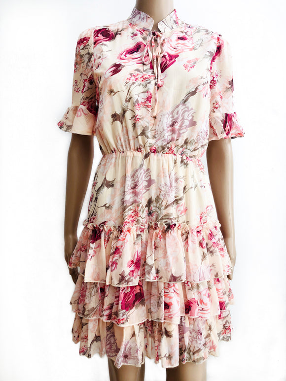 Kleid mit Blumenprint - May
