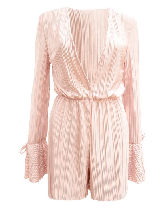 Jumpsuit Chani in Rosa Plissée