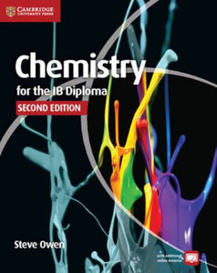 CHEMISTRY FOR THE IB DIPLOMA COURSBOOK (03725)
