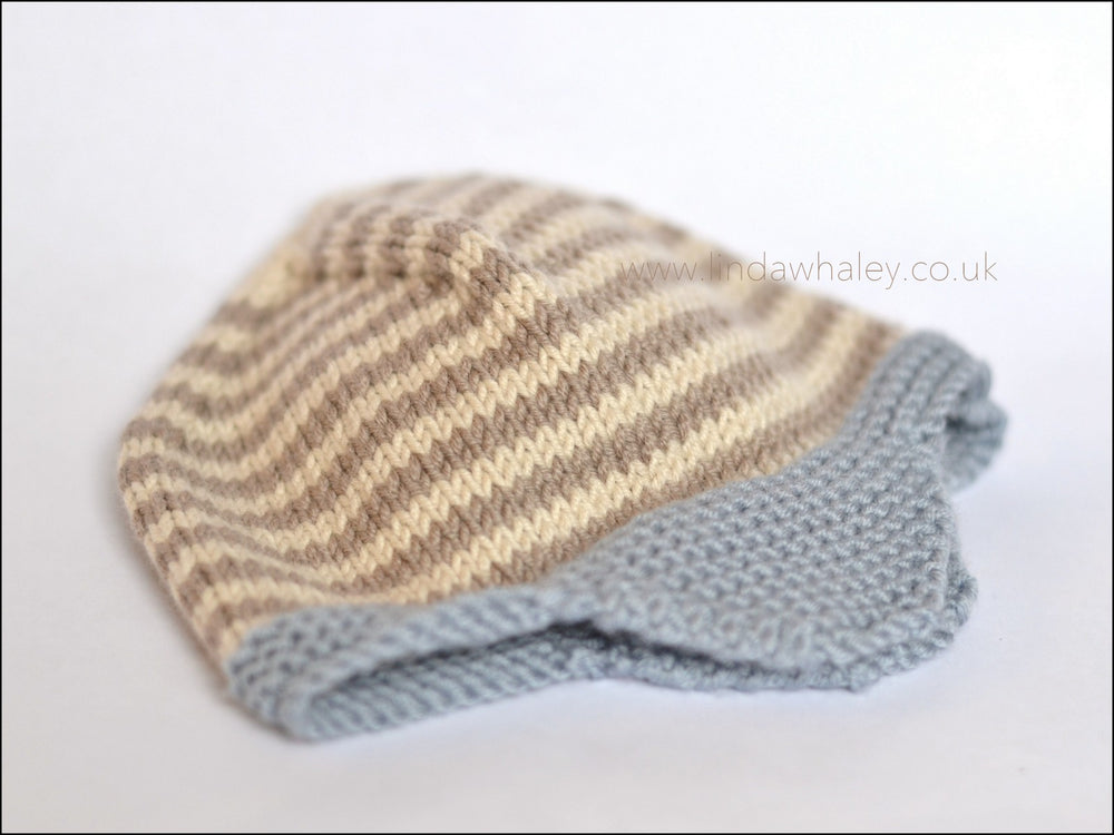 STRIPE AVIATOR HAT