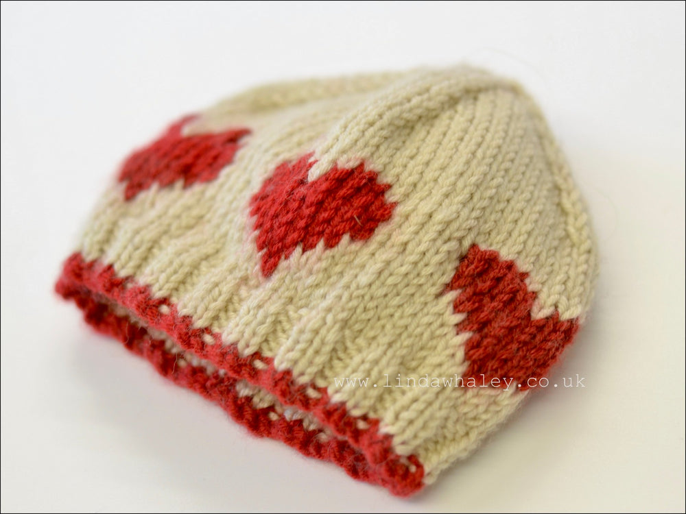 LITTLE HEARTS RIB HAT