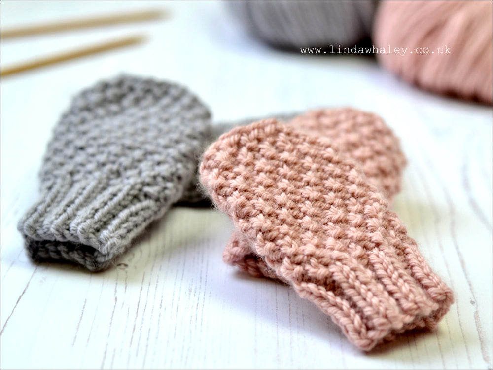 HOPE SIMPLE BABY MITTS