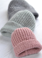 JASPER SIMPLE TEXTURED RIB HAT