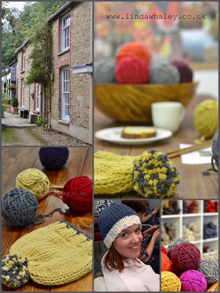 KNIT A BOBBLE HAT WORKSHOP