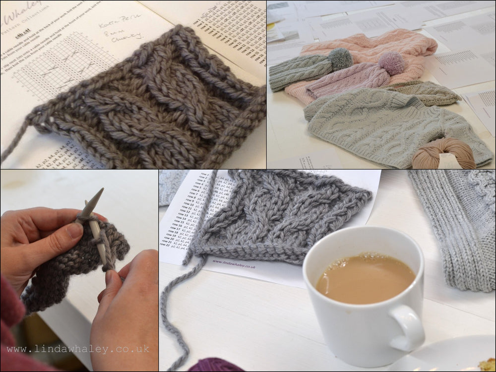 LEARN TO KNIT SIMPLE CABLES